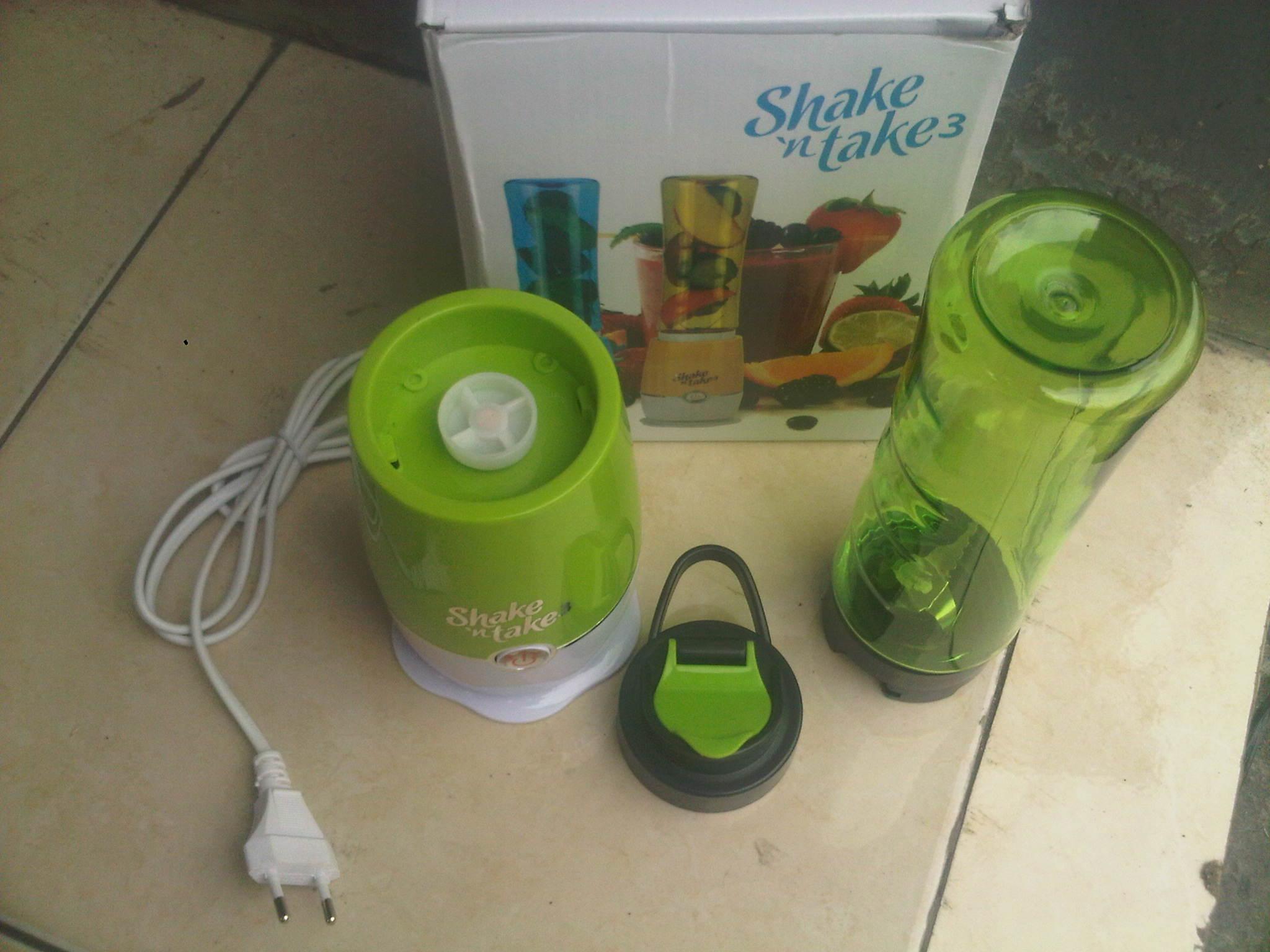 Blender Serbaguna Shake N Take Cocok Buat Jualan Pop Ice Mata Pisau 3 2 Cup Tajam