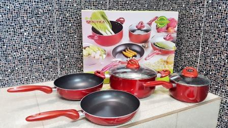 JUAL Parcel Lebaran Panci Supra Set 7pc Rosemary Cookware