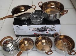 ceramic cookware panci masak dr keramik set 5pcs dessini