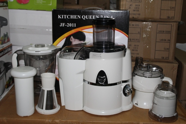 Queen S Slow Juicer : Power Juicer Kitchen Queen 7 in 1 Membuat Sayuran Jadi Mudah & Praktis