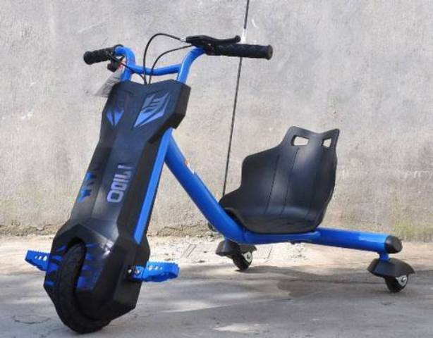 Sekuter Drift Scooter Mainan Anak Sepeda Listrik Otomatis