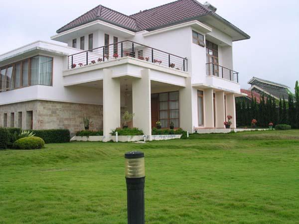 Villa Diosewakan di Puncak, Cimacan
