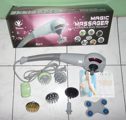 Magic Hand Massager Blueidea ALat Pijat Elektrik Dengan 8
