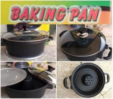 Baking Pan Cetakan Kue Tanpa Oven Praktis Di Lengkapi
