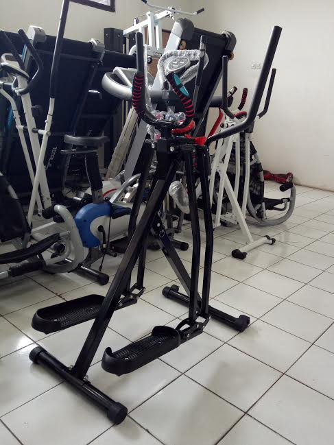Air Walker New Freestyle Glider Flywheel Alat Fitness Baru