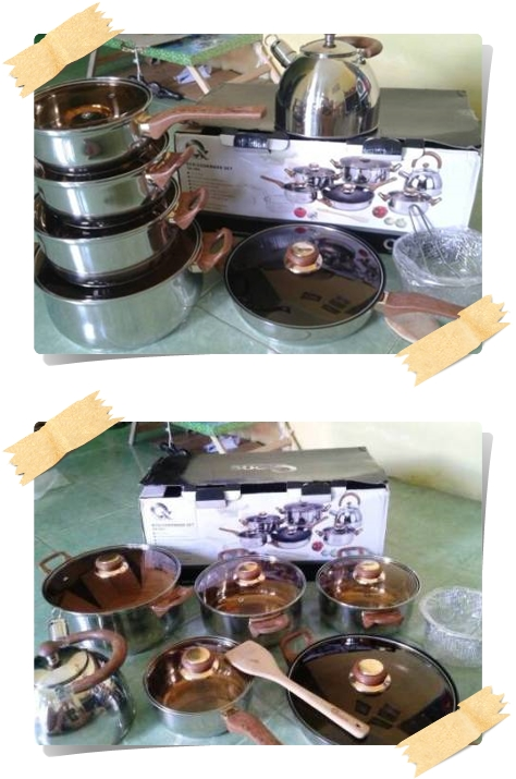 Perabot Dapur Stainless Oxone Panci Eco Cookware Set OX