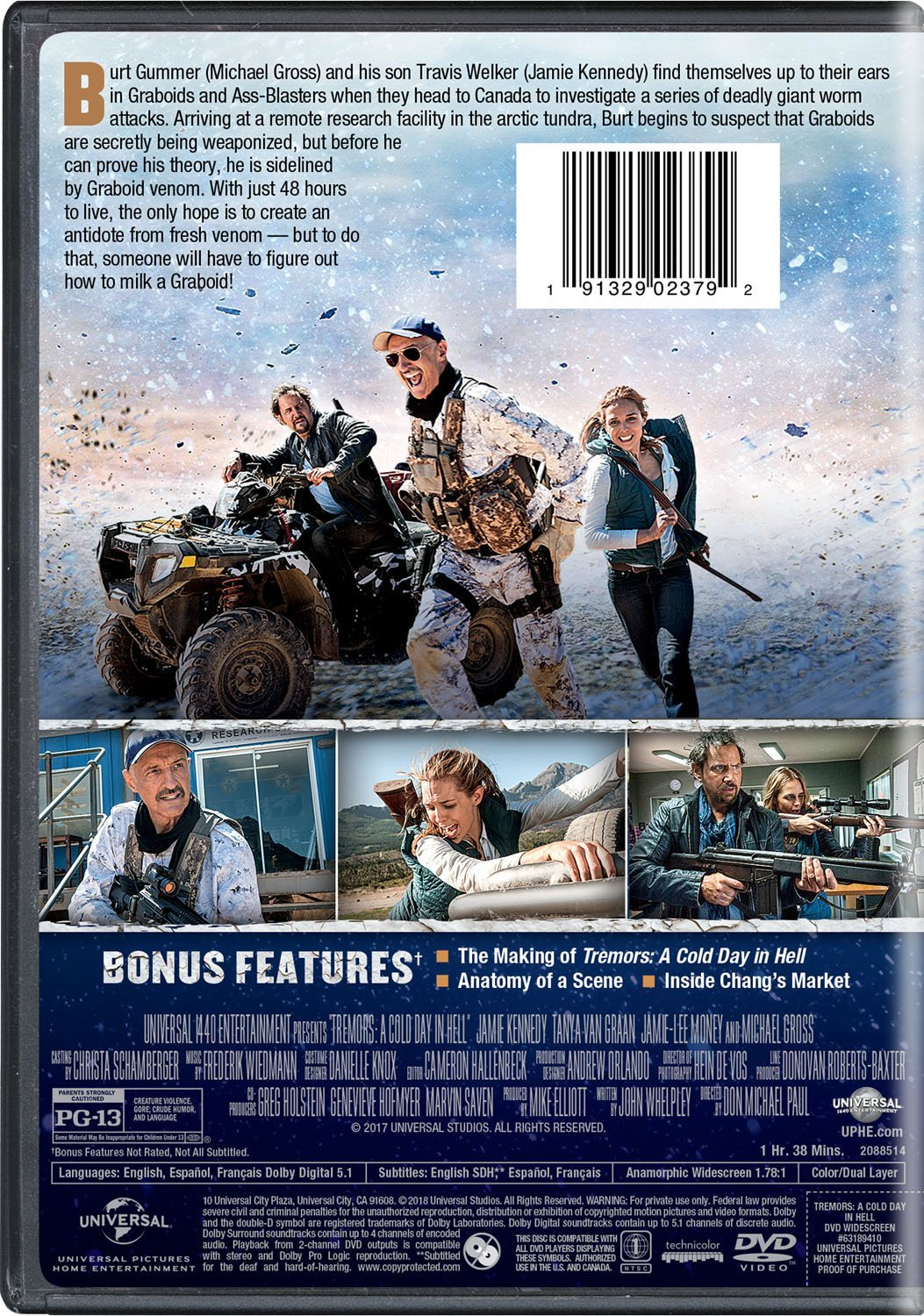 Download Film Tremors A Cold Day In Hell 2018