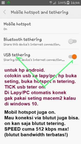 USB Data koneksi