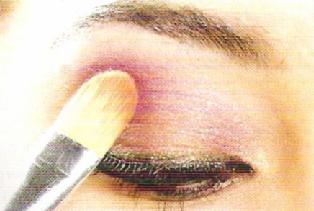 Makeup Tutorial DEEP PURPLE1  314 x 211 .jpg