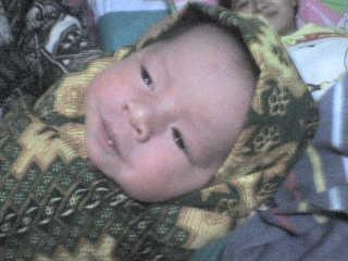 my baby Vania Nur Vita