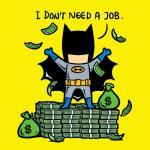 Pekerjaan Sampingan Superhero
