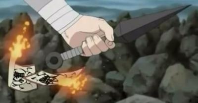 Jutsu dan expresi sasuke