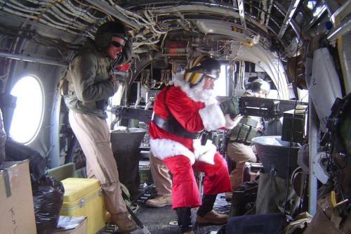 Santa lagi have fun... dengan M2...