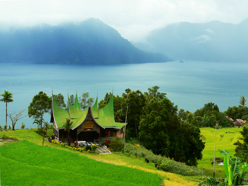 Natural Beauty of  Indonesia