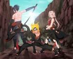 Naruto&sasuke&Sakura Akatsuki