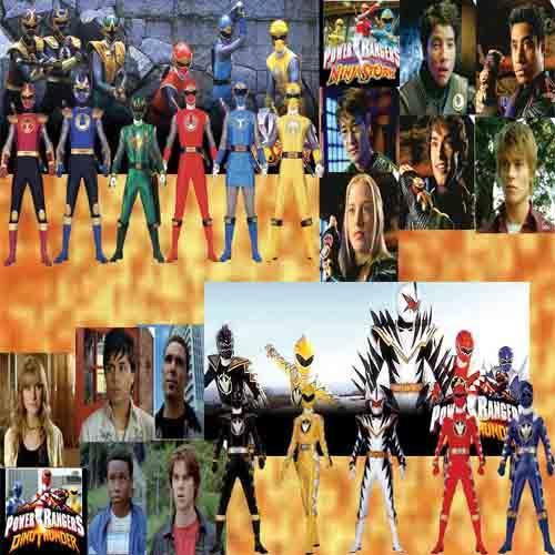 Power Rangers Ninja Storm & Power Rangers Dino Thunder