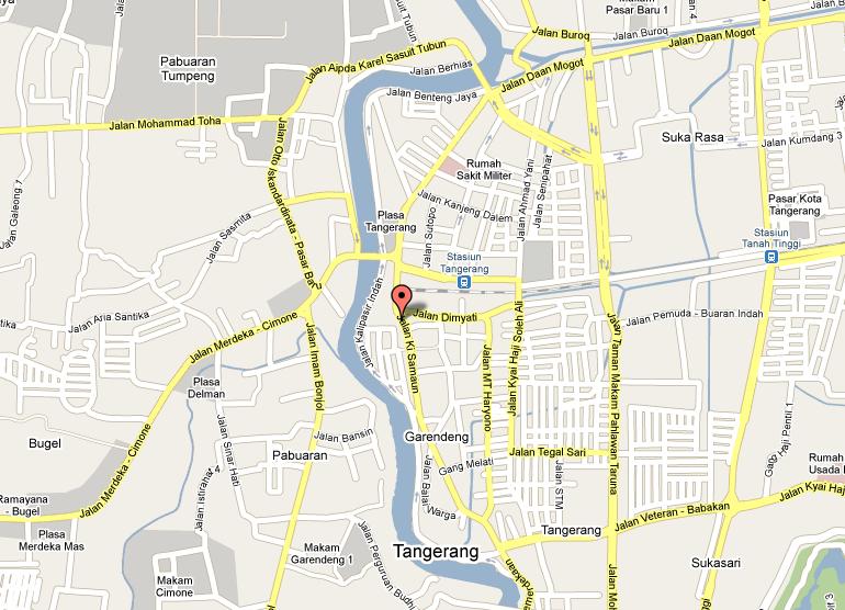 map tangerang Lainnya FotoGambar Umum CitiesTipscom